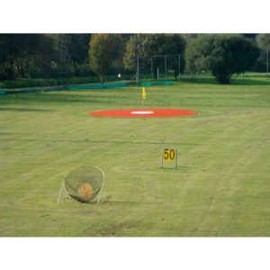 2-farbiges Target Green